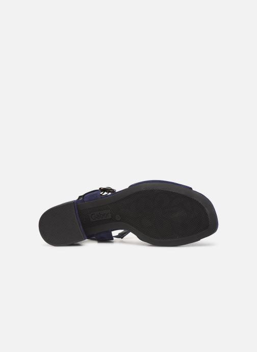 Sandales et nu-pieds Gabor Alycia Bleu vue haut
