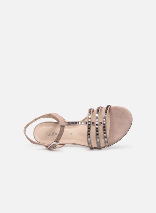 Sandales et nu-pieds Gabor Thya Rose vue gauche