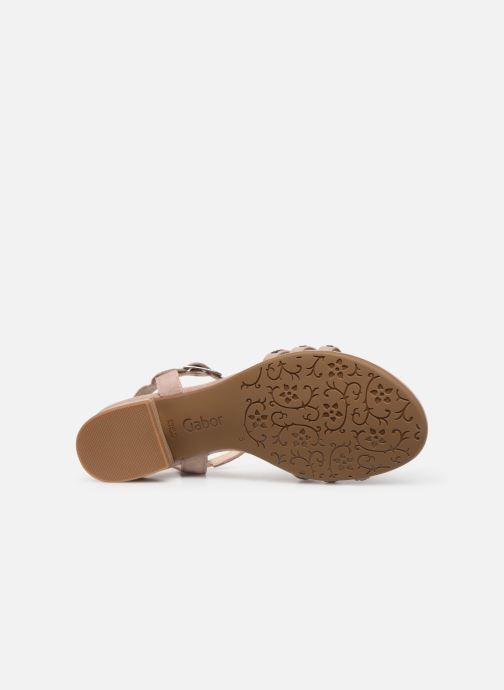 Sandales et nu-pieds Gabor Thya Rose vue haut