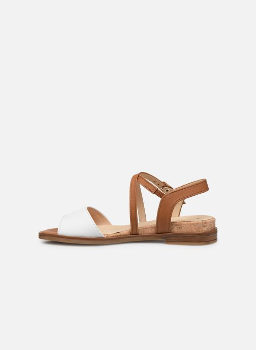 Sandales et nu-pieds Gabor Dulcé Marron vue face