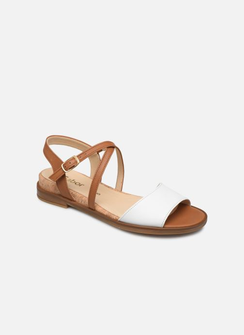 Sandales et nu-pieds Gabor Dulcé Marron vue détail/paire