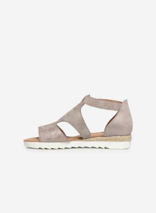 Sandales et nu-pieds Gabor Gaelle Beige vue face