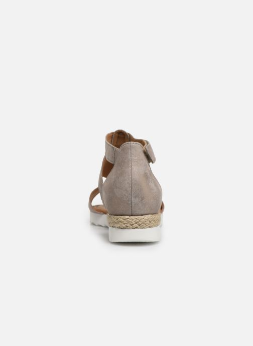 Sandals Gabor Gaelle Beige view from the right