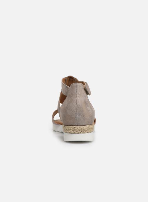 Sandales et nu-pieds Gabor Gaelle Beige vue droite