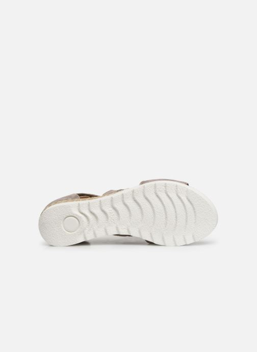 Sandales et nu-pieds Gabor Gaelle Beige vue haut