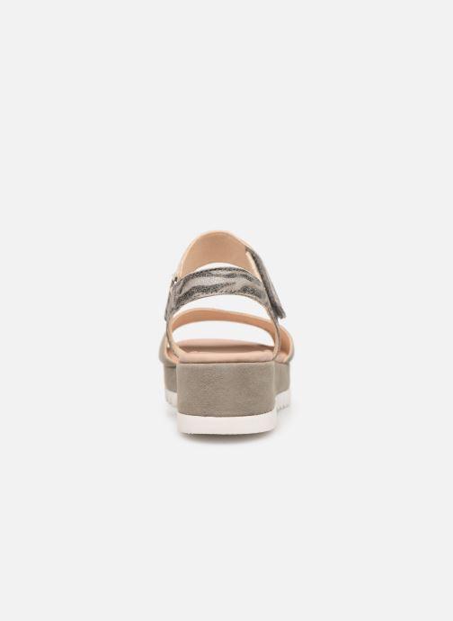 Sandales et nu-pieds Gabor Talyla Gris vue droite