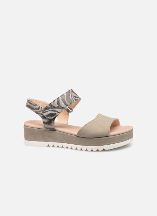 Sandales et nu-pieds Gabor Talyla Gris vue derrière