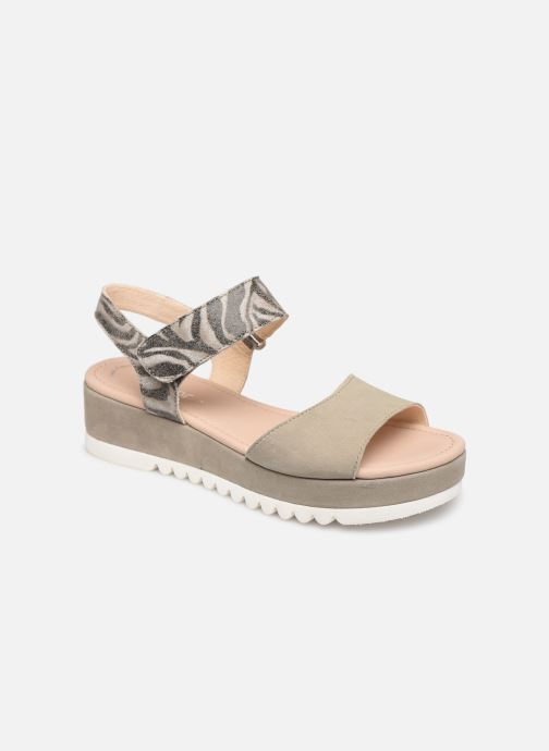 Sandales et nu-pieds Gabor Talyla Gris vue détail/paire