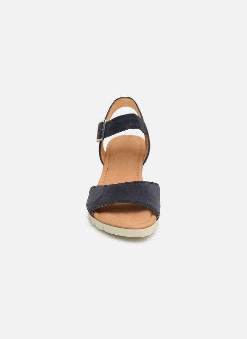 Sandales et nu-pieds Gabor Danaé Bleu vue portées chaussures