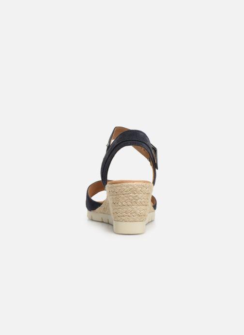 Sandales et nu-pieds Gabor Danaé Bleu vue droite