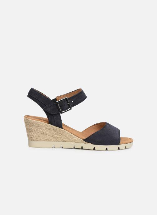 Sandales et nu-pieds Gabor Danaé Bleu vue derrière