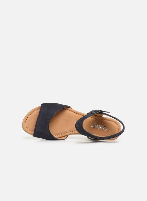 Sandales et nu-pieds Gabor Danaé Bleu vue gauche