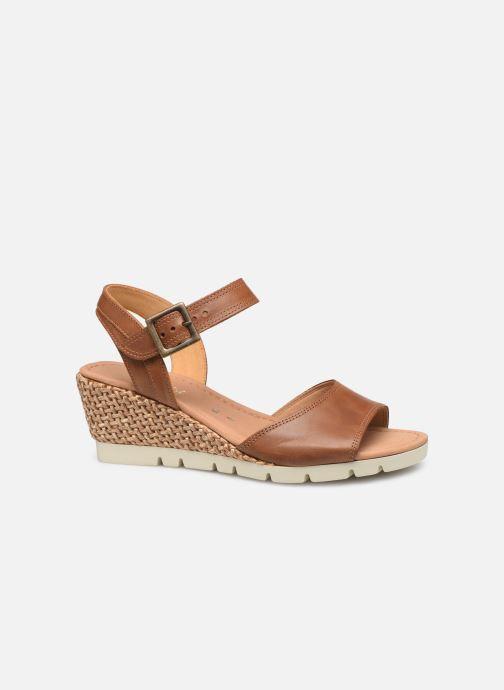 Sandales et nu-pieds Gabor Danaé Marron vue derrière