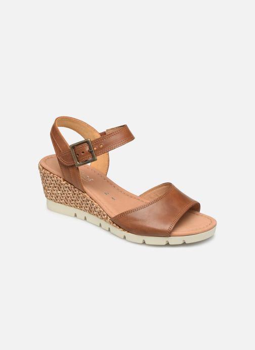 Sandales et nu-pieds Gabor Danaé Marron vue détail/paire
