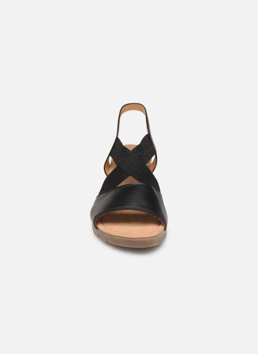 Sandales et nu-pieds Gabor Coraline Noir vue portées chaussures