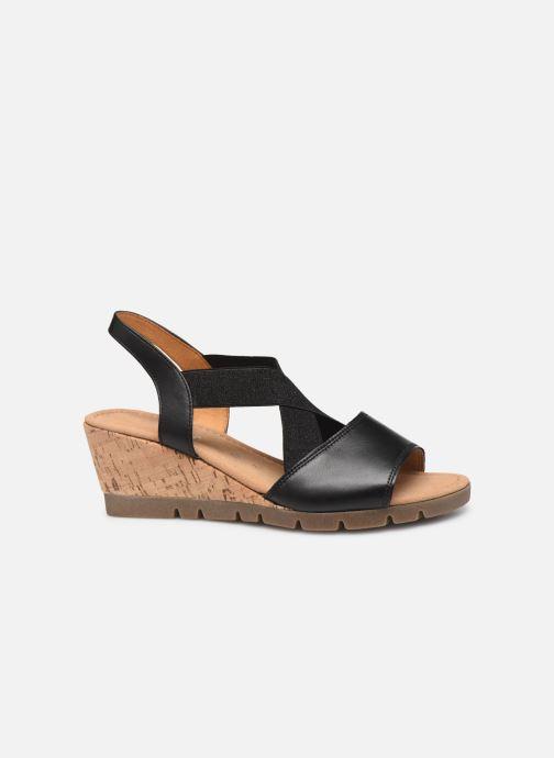 Sandales et nu-pieds Gabor Coraline Noir vue derrière