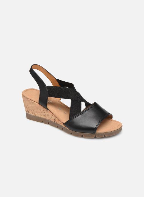 Sandales et nu-pieds Gabor Coraline Noir vue détail/paire