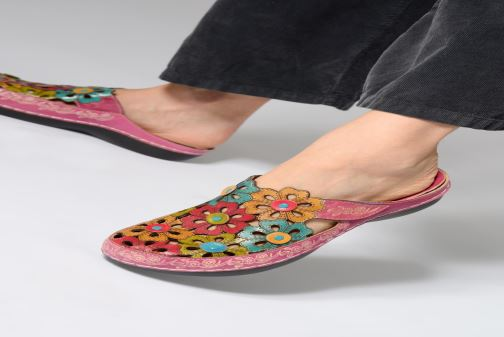 Mules & clogs Laura Vita BILLY 16 Multicolor view from underneath / model view