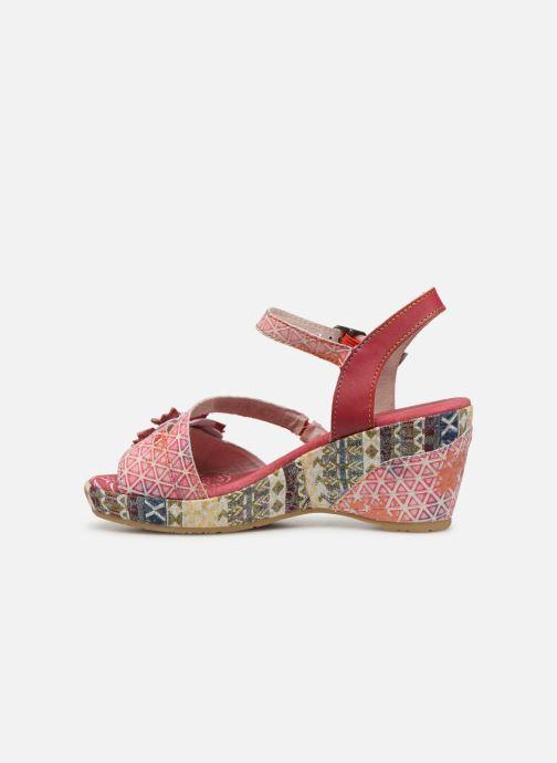 Sandales et nu-pieds Laura Vita Becauteo 119 Rose vue face