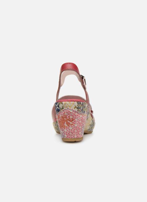 Sandales et nu-pieds Laura Vita Becauteo 119 Rose vue droite