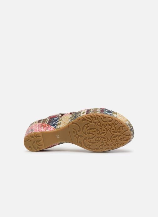 Sandales et nu-pieds Laura Vita Becauteo 119 Rose vue haut