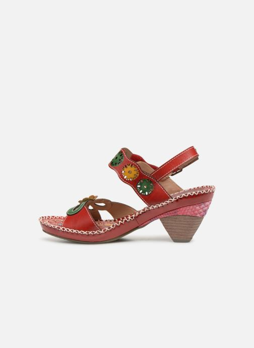 Sandales et nu-pieds Laura Vita BEIGNET 33 Rouge vue face