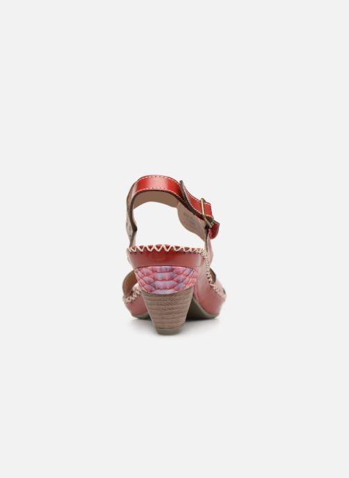 Sandales et nu-pieds Laura Vita BEIGNET 33 Rouge vue droite