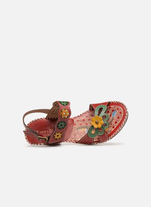 Sandali e scarpe aperte Laura Vita BEIGNET 33 Rosso immagine sinistra