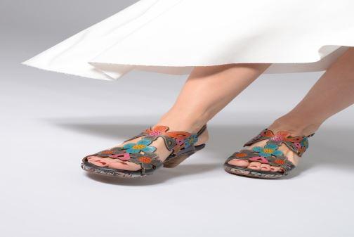 Sandales et nu-pieds Laura Vita BELFORT 919 Multicolore vue bas / vue portée sac