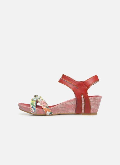 Sandales et nu-pieds Laura Vita BELINDA 029 Rouge vue face