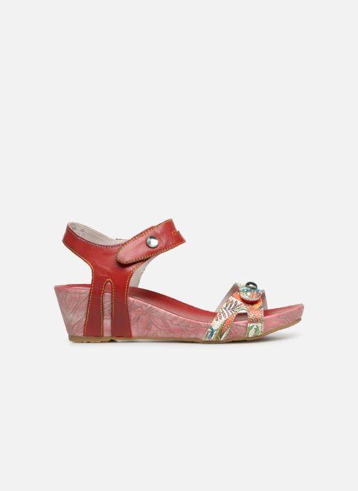 Sandales et nu-pieds Laura Vita BELINDA 029 Rouge vue derrière