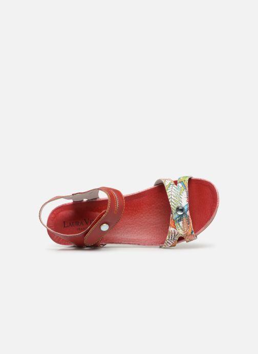 Sandales et nu-pieds Laura Vita BELINDA 029 Rouge vue gauche