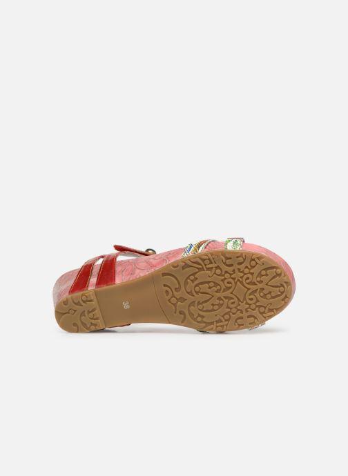 Sandales et nu-pieds Laura Vita BELINDA 029 Rouge vue haut