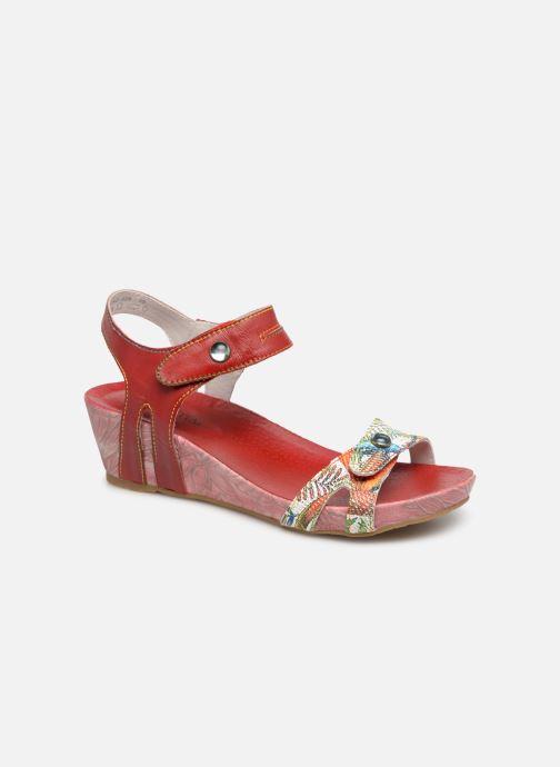 Sandales et nu-pieds Laura Vita BELINDA 029 Rouge vue détail/paire