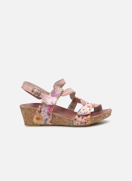 Sandales et nu-pieds Laura Vita BELINDA 209 Rose vue derrière