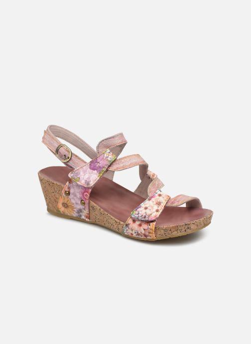 Sandals Laura Vita BELINDA 209 Pink detailed view/ Pair view