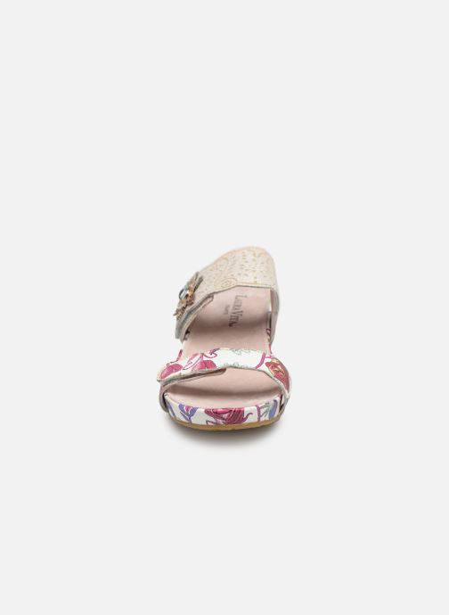 Sandales et nu-pieds Laura Vita Beclindao 60 Beige vue portées chaussures