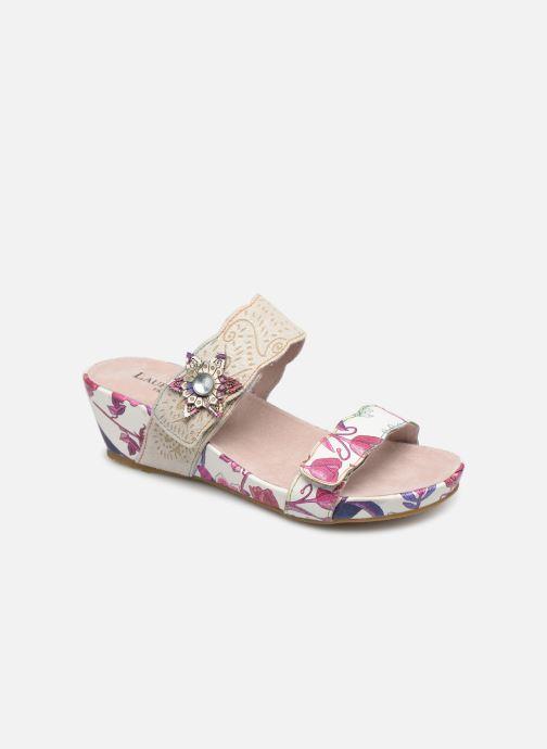 Sandales et nu-pieds Laura Vita Beclindao 60 Beige vue détail/paire