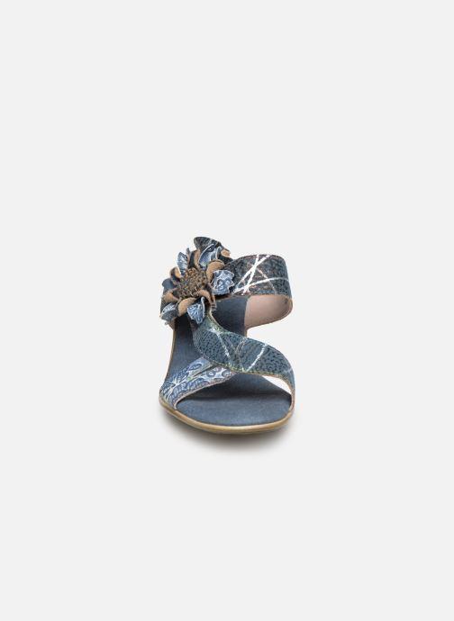 Mules et sabots Laura Vita BETTINO 179 Bleu vue portées chaussures