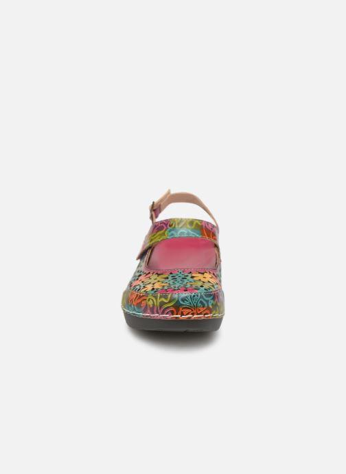 Träskor & clogs Laura Vita BILLY 01 Rosa bild av skorna på