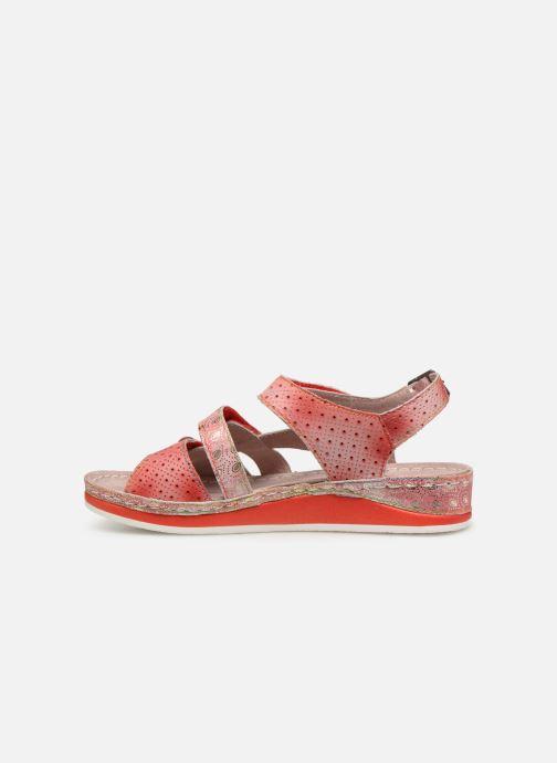 Sandales et nu-pieds Laura Vita BRUEL 069 Rouge vue face