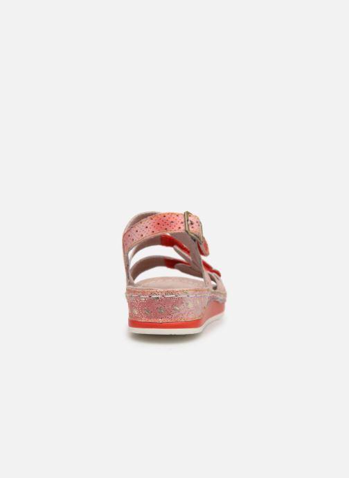 Sandales et nu-pieds Laura Vita BRUEL 069 Rouge vue droite