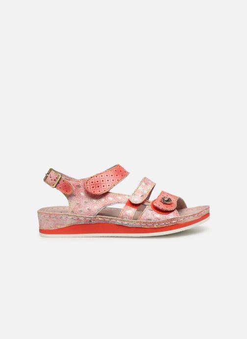 Sandales et nu-pieds Laura Vita BRUEL 069 Rouge vue derrière
