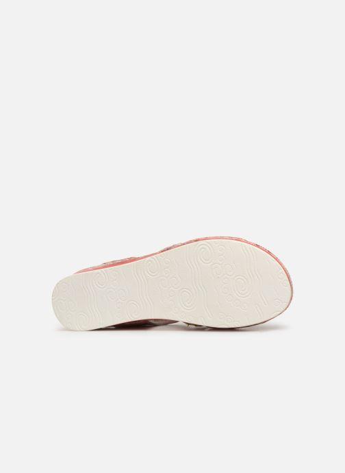 Sandales et nu-pieds Laura Vita BRUEL 069 Rouge vue haut