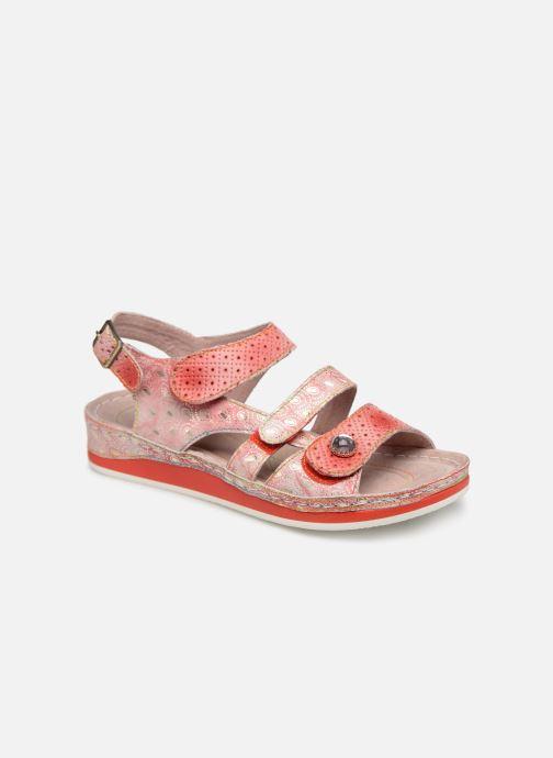 Sandales et nu-pieds Laura Vita BRUEL 069 Rouge vue détail/paire