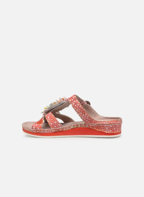 Mules & clogs Laura Vita Brcuelo 42 Red front view