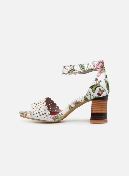 Sandali e scarpe aperte Laura Vita CELESTE 41 Bianco immagine frontale