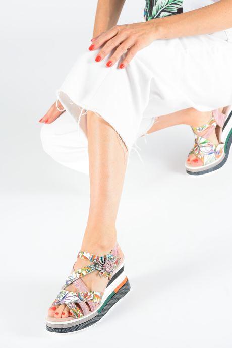 Sandali e scarpe aperte Laura Vita DADDY 039 Rosa immagine dal basso