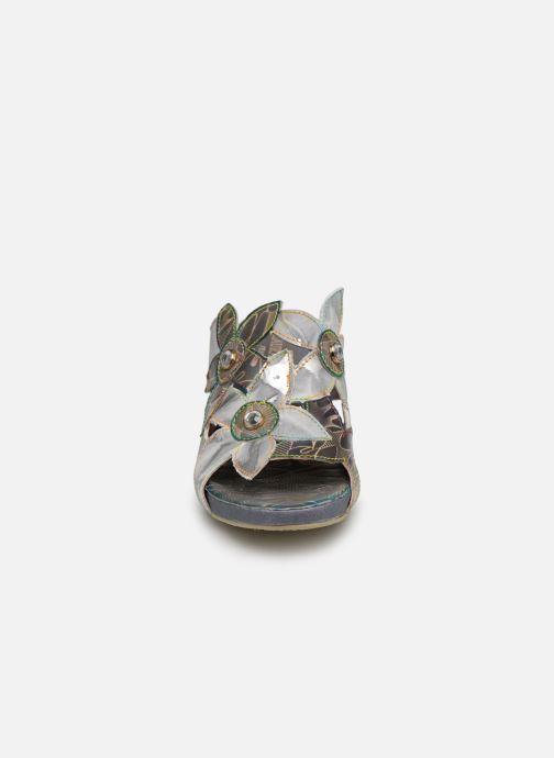 Mules et sabots Laura Vita DAX 119 Gris vue portées chaussures
