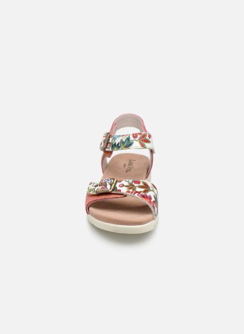 Sandales et nu-pieds Laura Vita DOBBY 039 Orange vue portées chaussures